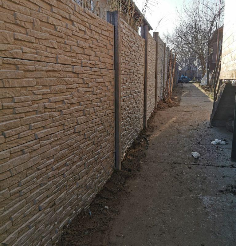 Dunaharaszti Törtkő (Standard) Betonkerítés