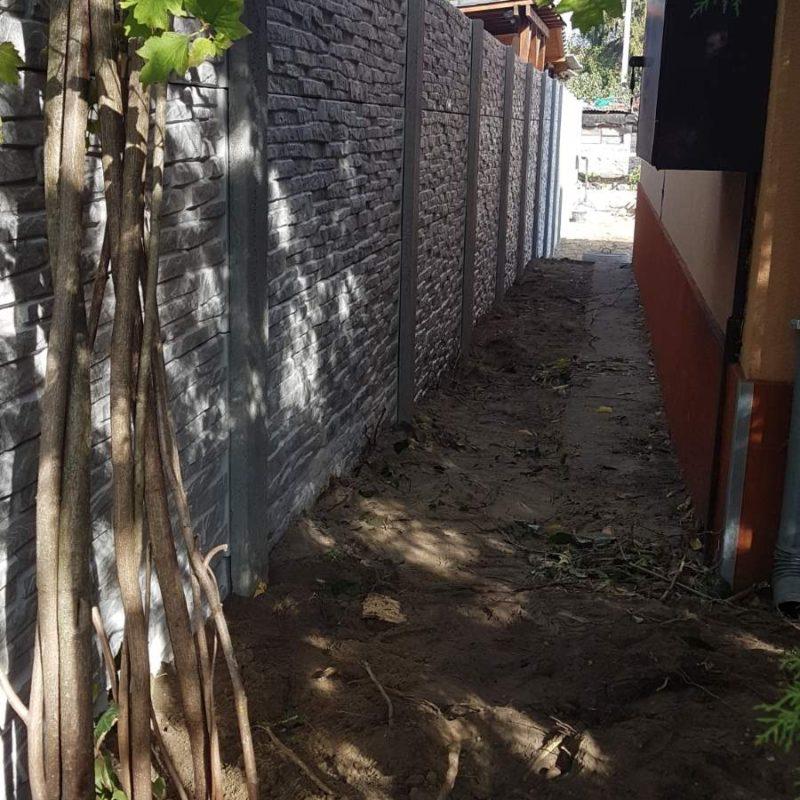 Dunakeszi Törtkő (standard) kerítés