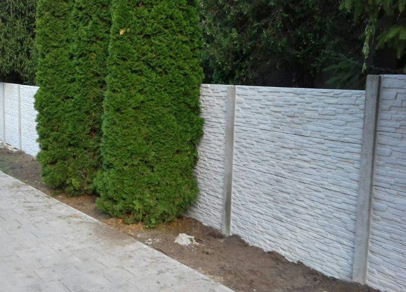 Komárom Törkő (Standard) Betonkerítés
