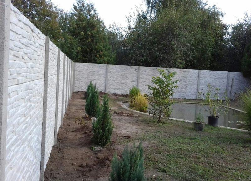 Komárom Törkő(Standard) betonkerítés