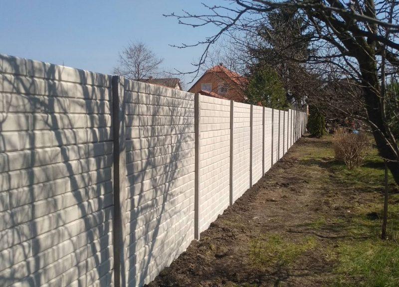 Nagytálya Tégla (Standard) Betonkerítés