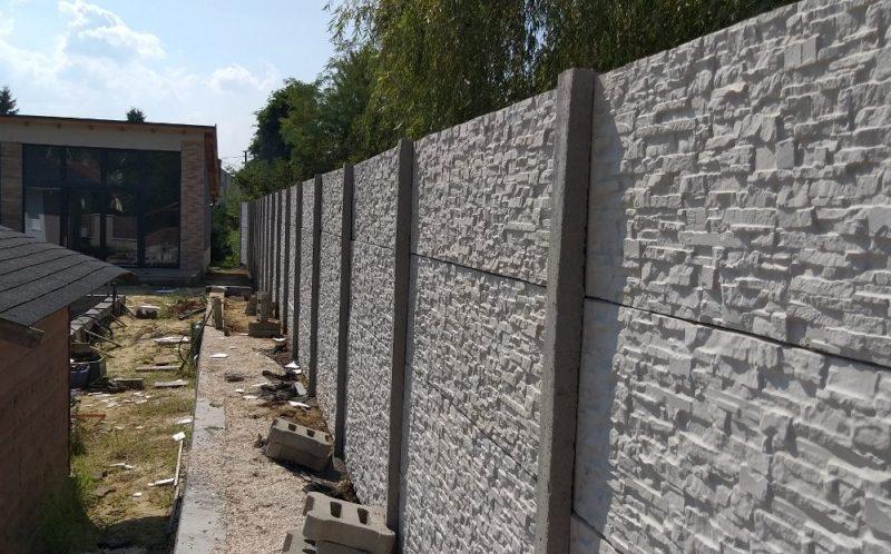 Veresegyház Törtkő (standard) betonkerítés